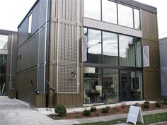 Cargo Shipping Container House in Georgetown Neighborhood in Seattle