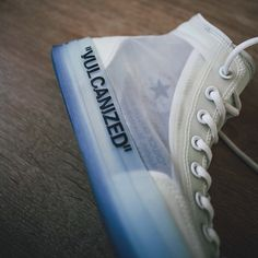 e5c46986e OFF-WHITE × CONVERSE CHUCK TAYLOR ALL STAR CLEAR WHITE-WHITE Off White  Converse