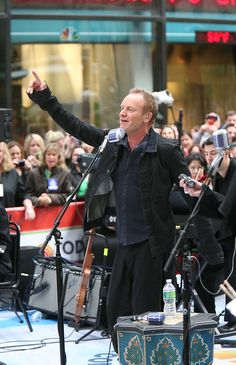 Sting - Sting Performs on 'The Today Show'
