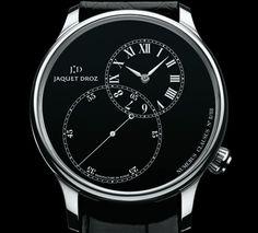 """Grande Seconde Decentree"" - Jaquet Droz Swiss Watch, Grande, Digital, Design"
