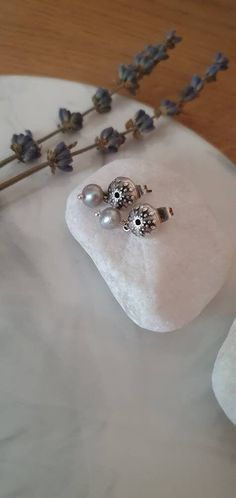 Excited to share this item from my #etsy shop: Sea Urchin Silver Stud Earrings, Fresh Pearl Drop Earrings, Summer Sea Women Earrings, Sea Urchin Drop Earrings, Dainty Drop Silver Earrings Pearl Drop Earrings, Pearl Beads, Women's Earrings, Silver Earrings, Sea Urchin, Pearl Color, Handmade Jewelry, Etsy Shop, Fresh