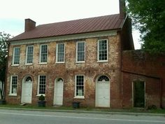 Thomas Day's residence and workshop, Union Tavern, Milton, NC. Thomas Day Antebellum Free man of color Master Cabinetmaker