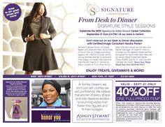 506e8b7df2c58 Event Promo. Kendra Porter · EVENT  Ashley Stewart SIGNATURE Launch · Signature  Collection