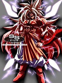 Super Saiyan Five Goku Goku Super Saiyan 10, Gogeta E Vegito, Goku Face, Majin, Evil Goku, Foto Do Goku, Mega Anime, Dbz, Dragon Ball Image
