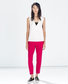 ANKLE-LENGTH TROUSERS from Zara