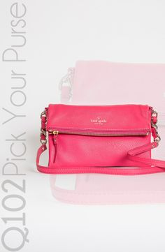 Kate Spade - Krista Crossbody in Pink. Go to wkrq.com to find out how to play Q102's Pick Your Purse!