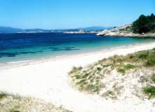 Playa Area Secada, Playa. Turismo en A Illa de Arousa ( Pontevedra ). Disfruta de Galicia.