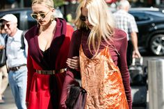Street style at New York Fashion Week Spring/Summer 2017 | Vogue Paris
