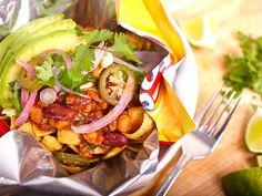 Vegan Frito Pie. Perfect for Super Bowl Sunday!