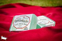 LEAFY MINT Soap by LadyStrawberryCo on Etsy, $5.00