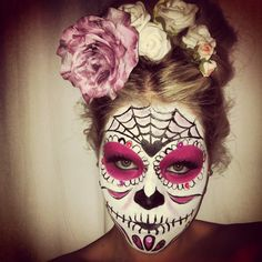 This is my quick and simple step by step guide on how to create a basic Sugarskull. But first a liitle history… What is a Sugar Skull? Sugar skulls originate from the Mexican traditional holi…