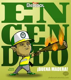 "#ElCartonDelDia para @purobeisbolfb""ENCENDIDA LA MADERA"" @OlmecasTabasco@AcererosOficial@LigaMexBeis#Biesbol"