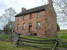 Stone House on Manassas Battlefield - once a toll house for Alexandria-Warrenton Turnpike