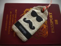 SewforSoul: Appliqued tag tutorial, with cute glasses and mustache icon