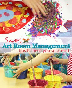 Smart ART Room Management tips from Michael Linsin's Smart Classroom Management. Awesome tips!