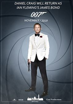 #danielcraig #bond25 #jamesbondfanart James Bond 25, Daniel Craig 007, Naval Intelligence, Bond Series, Best Bond, Starwars Toys, King Charles Spaniel, Actors & Actresses, Fan Art