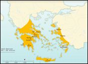 History of ancient Greece and the Hellenistic world | The Map as History