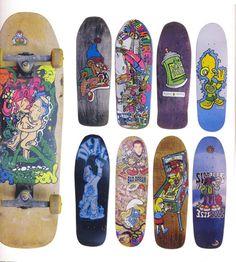 The New Deal Skateboard decks