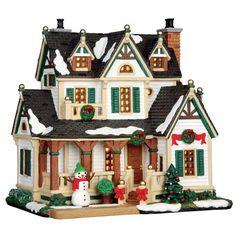 Lemax Village Collection Christmas Home Tour # 55932 | Christmas ...