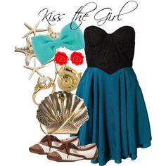 Disneybound Kiss the Girl - Ariel