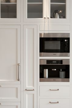 Built-in Coffee Maker & Microwave; JCS Construction