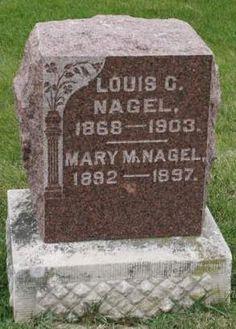 NAGEL, LOUIS C. - Scott County, Iowa | LOUIS C. NAGEL