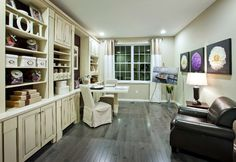 Paint some art, study for a test, or just read a good book in this study! (Toll Brothers at Morris Chase, NJ)