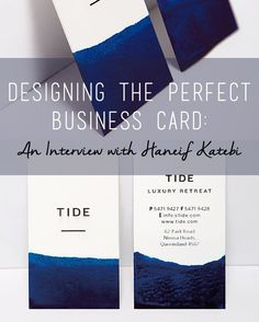 Because designing the perfect business card can be a daunting task with a lot of importance, I turned to a professional designer & artist to share a few strategies and tips for creating a business card that will never fail to wow~