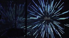 Origin - a light-sound sculpture by Philipp Mohr & Selektivton