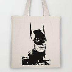 I'm Batman Tote Bag by Vee Ladwa - $18.00 Im Batman, Reusable Tote Bags