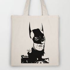 I'm Batman Tote Bag by Vee Ladwa - $18.00