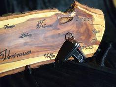 Magische Schlüssel und Messerbretter - 9er´sche HOLZ- und SCHMUCK- WERKSTATT Green, Work Shop Garage, Knives, Timber Wood, Schmuck