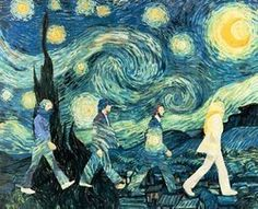 cool spin on starry night