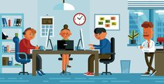 Dribbble - Office_illustration_dribbble_front.png by FireArt Studio