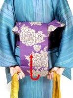 半幅帯の結び方!着物に合う、お太鼓より簡単な「角だし」 [着物・着付け] All About Origami Heart, Geisha, Japan, Pretty, Dresses, Fashion, Kimonos, Vestidos, Moda
