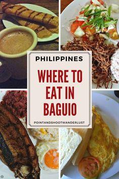 Where to eat in Baguio: Diner, Good Taste, Café Sabel, and Choco-late' de Batirol Baguio Philippines, Philippines Travel Guide, Philippines Food, Philippines Vacation, Food Places, Best Places To Eat, 50s Diner, Mongolia, Foodie Travel