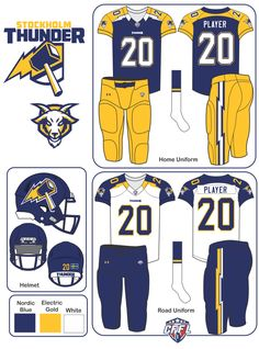 Fantasy Football: Global Relocations (Uniforms added - Page 3 - Concepts - Chris Creamer's Sports Logos Community - CCSLC - SportsLogos. College Football Uniforms, Sports Uniforms, Football Helmets, World Football League, Fantasy Football League, Sports Logos, Nfl Sports, Sports Teams, Seahawks News