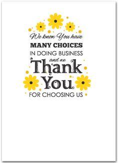 Customer Appreciation Card INSTANT DOWNLOAD - Randomly Energetic ...
