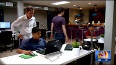 It's estimated by the year 2020 there will be 1 million unfilled tech jobs. Now, a valley entrepreneur hopes his training will help fill that gap. Learn To Code, Game Design, Kids Learning, Fill, Entrepreneur, Gap, Thing 1, Coding, Tech
