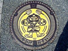 Yakage Okayama manhole cover(岡山県矢掛町のマンホール)   by MRSY