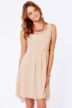$52 Splendid Friend Blush Dress at LuLus.com!