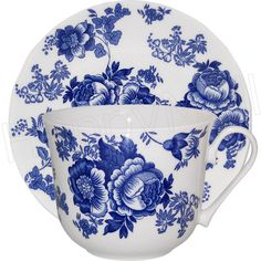"Victorian cups | fine bone china 16 oz. breakfast cup and saucer set Size: 4.25""D cup ..."
