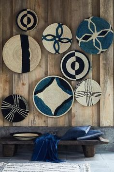 Vosgesparis: Keep The Summer Vibe Alive Couleur Locale Home Decor Baskets, Baskets On Wall, Wall Basket, African Interior Design, African Home Decor, Plates On Wall, Decorating Your Home, Art Decor, Painting