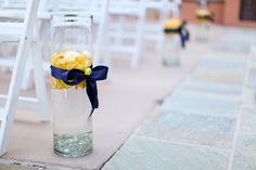 yellow and purple wedding ideas Lake Las Vegas Destination Wedding Blue Yellow Weddings, Purple Wedding, Fall Wedding, Dream Wedding, Flower Centerpieces, Wedding Centerpieces, Wedding Decorations, Aisle Decorations, Destination Wedding
