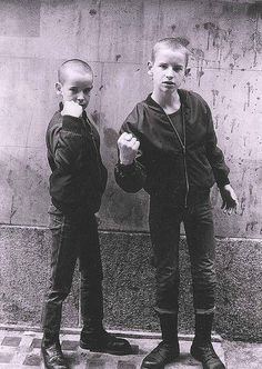Skinhead youth #kids If the Kids Are United #boots Dr. Martens #bootboys #hooligans