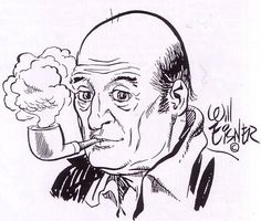 Will Eisner, self-portrait