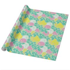 modern leaf bud and flower wrapping paper Pink Wrapping Paper, How To Wrap Flowers, Gift Wrapping Supplies, Organic Plants, Abstract Flowers, Green Flowers, Amazing Flowers, Surface Design, Flower Patterns
