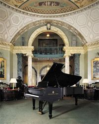 Going to have to check this out -->One of my favorite places ON THE PLANET! Steinway Hall, NYC. Even if you don't play the piano...go and see the gorgeous architecture of this building, and learn about one of the last best things handmade in America, The Steinway Piano