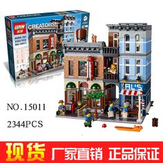 2262 Unids Creador Ciudad Calle Detective de Oficina Modelo Kit de Construccion Ladrillos  Bloques Compatible 10246 #Affiliate
