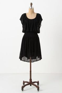 I love to find dresses with actual sleeves instead of straps or (gasp!) no straps/sleeves at all!